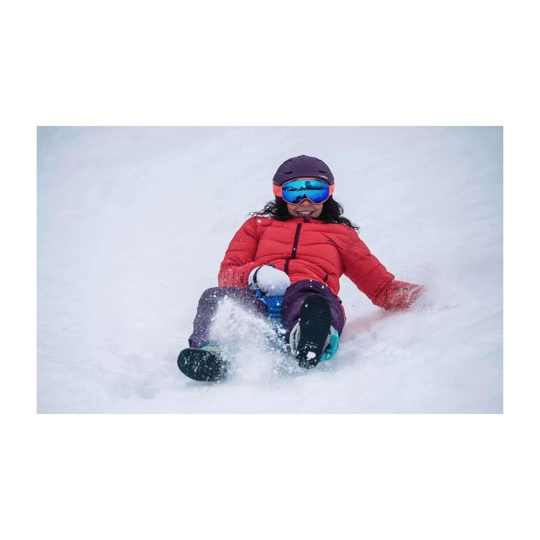 Triathlon T169 Kar Kızak Küreği Kırmızı