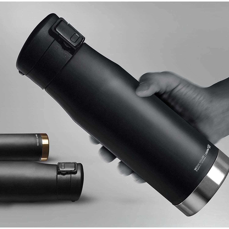 Asobu Asobu® Liberty Canteen Çelik Çift Duvar Yalıtımlı Termos 500ML Siyah